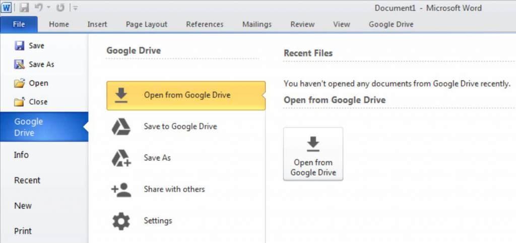 12 - GoogleDriveOptions
