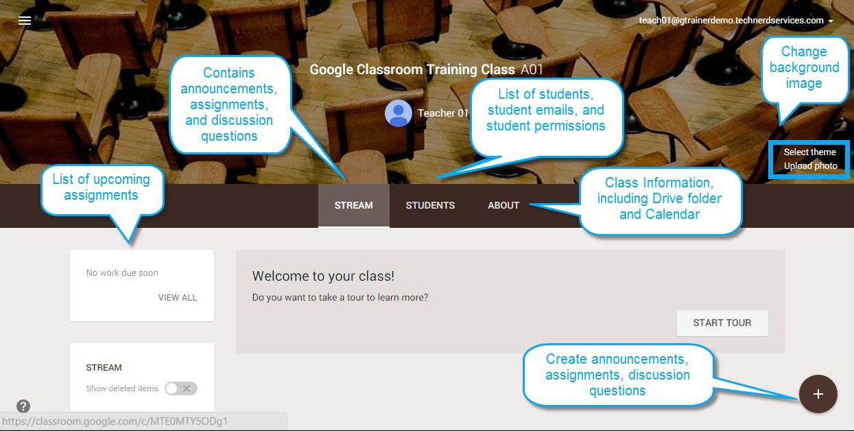 Innovative Features Of Google Classroom ~ An overview of google classroom with updates